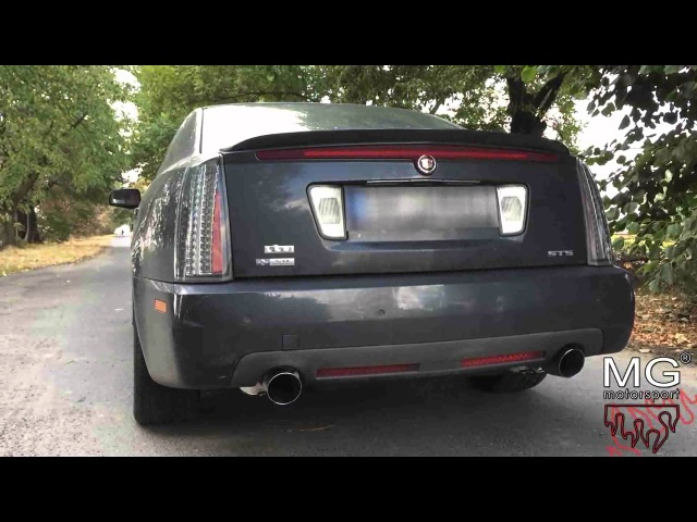 Cadillac STS V8 4.6l Northstar w/ MGmotorsport.pl exhaust