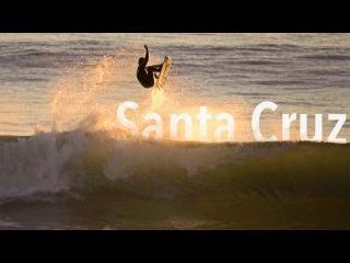Surfing Santa Cruz California - Raw and Unedited Surf Video