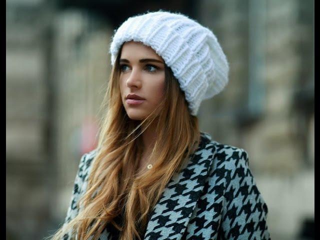 Вязаные шапки 2016 шапки с косами и без
