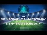 8 Тур. 22.04.2017 г. ФК