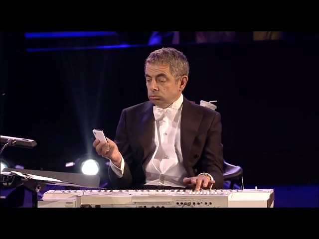 МИСТЕР БИН ЖЖЕТ НА СИНТЕЗАТОРЕ ► Mr Bean play piano