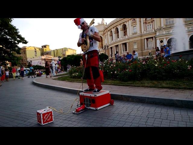 Музыкальный Робот SANTAMATIC ► ЭЛЕКТРО МАНДОЛИНА Потрясающий Уличный Музыкант