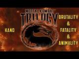 PS1 Mortal Kombat MK Trilogy - Kano Brutality &amp Fatality &amp Animality