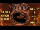 PS1 Mortal Kombat MK Trilogy - Sub-Zero - Brutality Fatality Animality