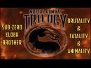 PS1 Mortal Kombat MK Trilogy - Elder Sub-Zero - Brutality Fatality Animality