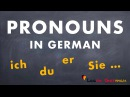 Learn German for beginners A1 - Personal Pronouns in German - Lesson 11