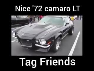 72 Camaro LT