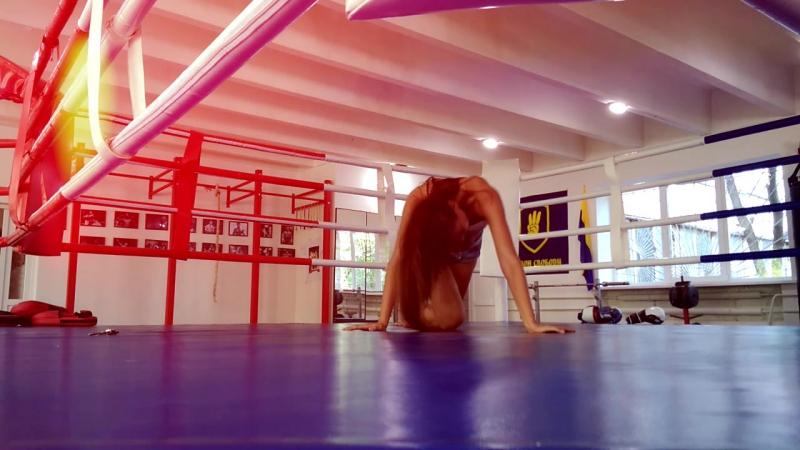 Первая проба импровизация Танец на ринге Топтун Татьяна