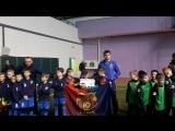 Открытие международного турнира по футболу