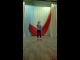 Катя Родина репетиция