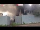Все в дыму. Серьёзный пожар На юго-востоке Москвы