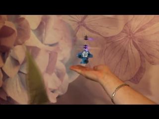 Летающая игрушка с пультом POLI ROBOCAR
