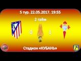 Чемпионат Испании 8х8. 5 тур. Атлетико - Юг Транс Сельта 2 тайм