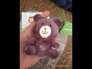 Bebecocoon Новинка 10 см зодиака плюшевого мишки плюшевые игрушки Водолей брелок медведь чучела плюшевый мишка прекрасные подарк