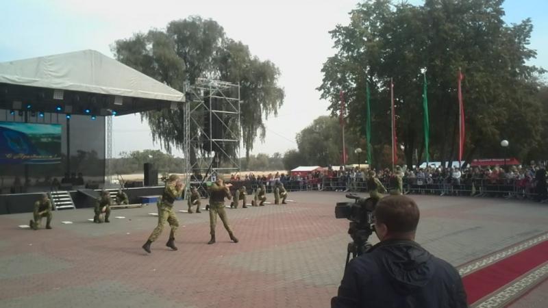 Показуха по рукопашному бою в Мозыре 01.10.2016