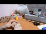 Как сшить куклу-попика из колготок. ❀ Часть 1