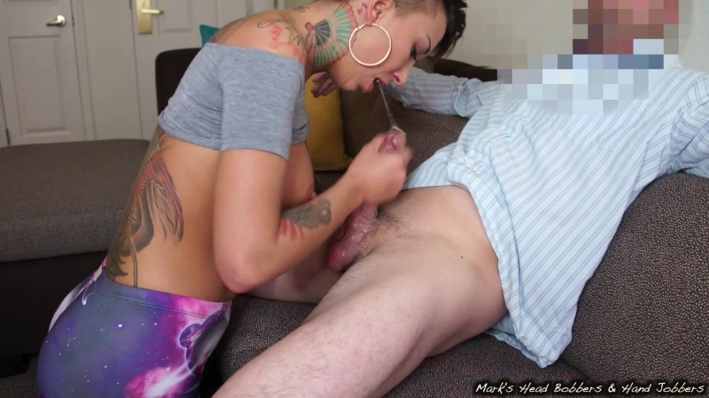 Bella Bellz - Bellas filthy mouth [Blowjob Cumshot Handjob Oral телка делает минет сосет хуй член]