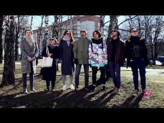 Актеры Белорусского свободного театра поют в поддержку задержанных товарищей