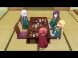 AniMaunt.Ru Габриэль бросает школу Спешлы OVA  Gabriel DropOut Specials 1 серия leoneo