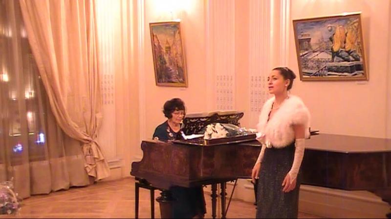 Зимний вечерсл Б Пастекнака муз Т Великодворской исп Александра Зарянкина