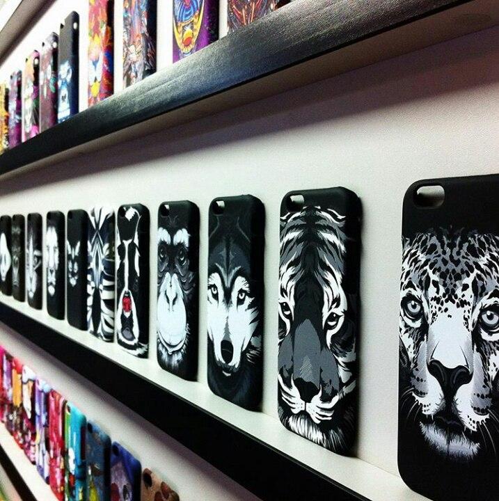 Чехол силиконовый Luxo Face Panther для iPhone 7