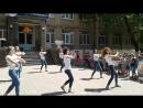 Открытие пришкольного лагеря. Танцуют девочки 11-ого класса. 02.06.170170602_110830[1]