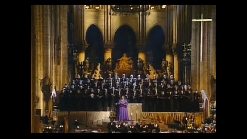 Christmas Concert at Notre Dame with Jessye Noman