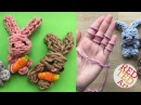 Как связать кролика на пальцах Время детей