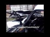 Машина шейха Хамзата Чумакова после совершенного на него покушения 14 сентября 20...