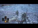 Dark Souls 3 - Тактика убийства Хранитель могилы чемпиона и великий волк, хранитель могилы!