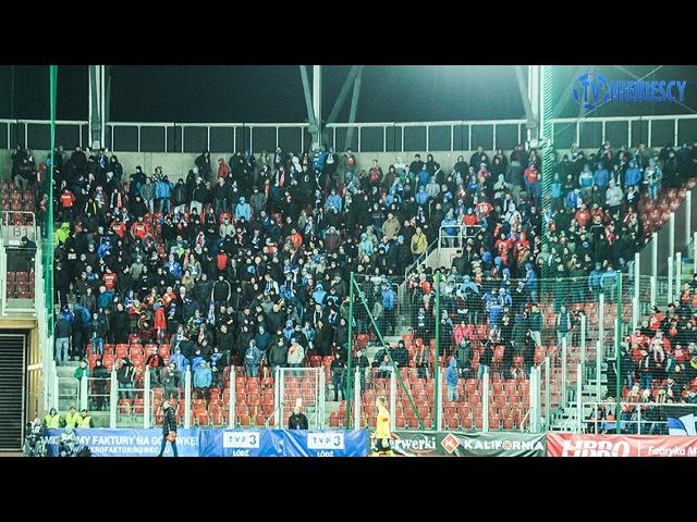 Kibice Ruchu Chorzów Na Otwarciu Stadionu Widzewa (18\03\2017)