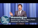 Obama Copies Trump, Harry Potter Characters 20 Years Later - Monologue