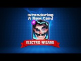 Clash Royale Welcome to the Arena, Electro Wizard!