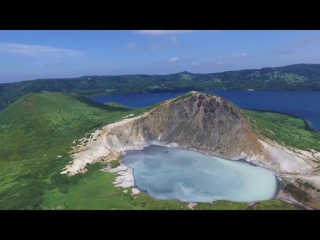 Курильские острова - съёмка с квадрокоптера