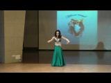 Елена Овчинникова  Танец  Oriental new way - Благотворительный концерт