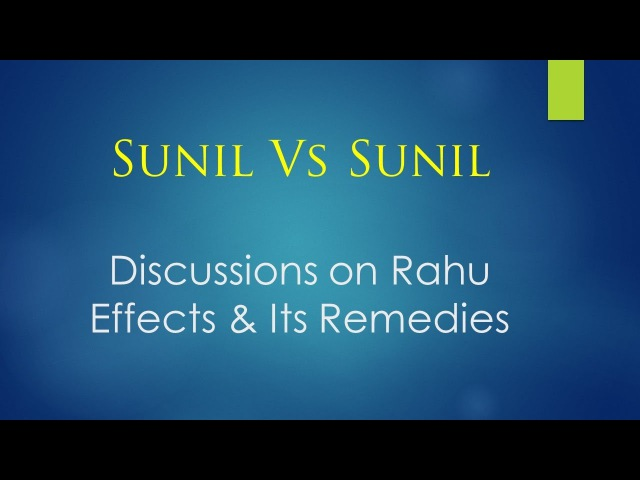 Lesson that Rahu wants to teach us | Rahu Effects and Remedies [Eng Sub Titles]