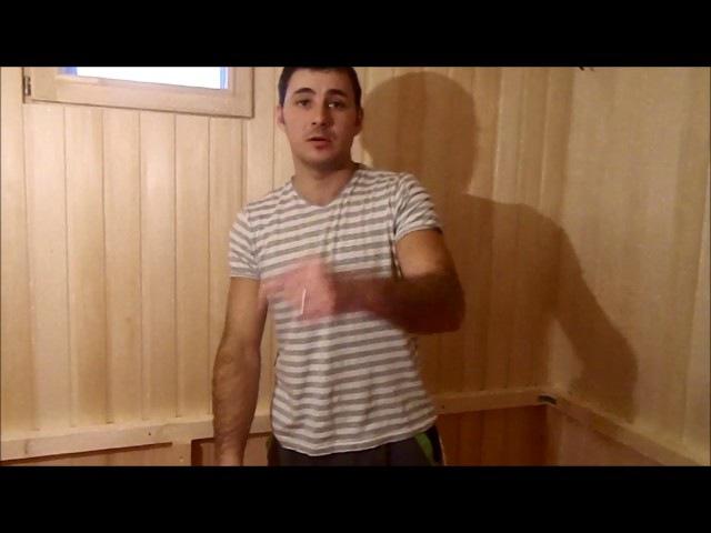 Как сделать каркас для полков в бане