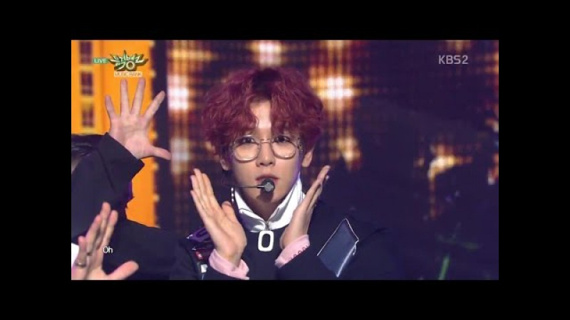 EXO-CBX (첸백시) Comeback Stage 'The One' KBS MUSIC BANK 2016.11.04