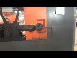 Видео работы cтанка для гибки арматурных хомутов с ЧПУ KZ12BX
