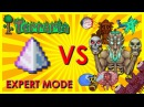 Terraria - Last Prism vs All Bosses and Events Dungeon Guardian Expert Mode Biron