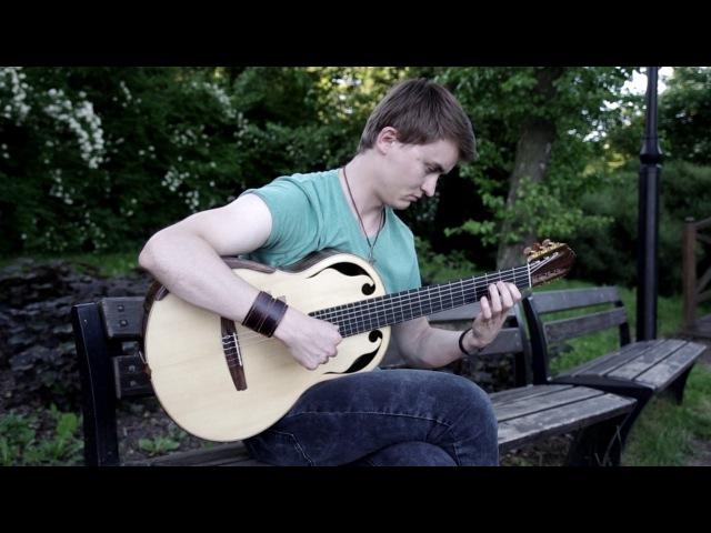 Lukasz Kapuscinski - Moonsong (by Adrian von Ziegler) - Celtic Guitar Music