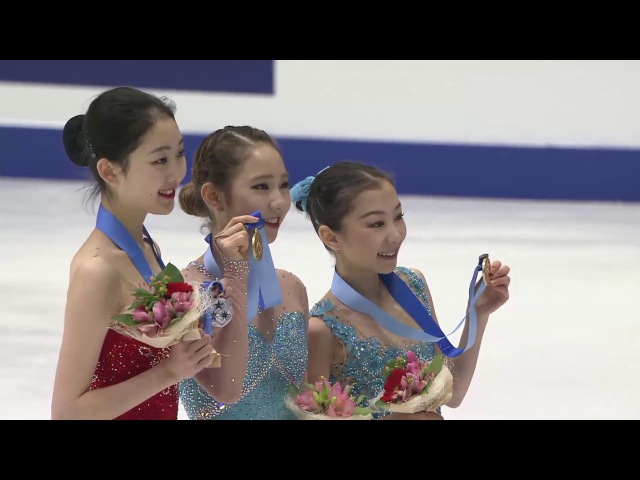 2017 AWG Ladies Victory Ceremony