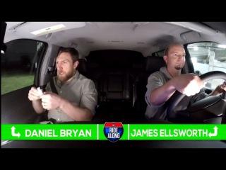 WWE Ride Along With James Ellsworth Daniel Bryan Rhyno Heath Slater