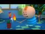 Аркадий Паровозов - Почему запускать фейерверки🔥💥 на кухне? - мультфильм детям