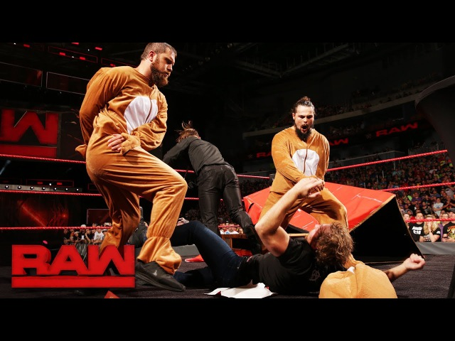 Meet The Miz's entourage: Raw, June 19, 2017
