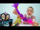 МонстерХай мультик: ВЕЧЕРИНКА 🎵 игры Одевалки КуклаХай 👗 прическа и макияж в