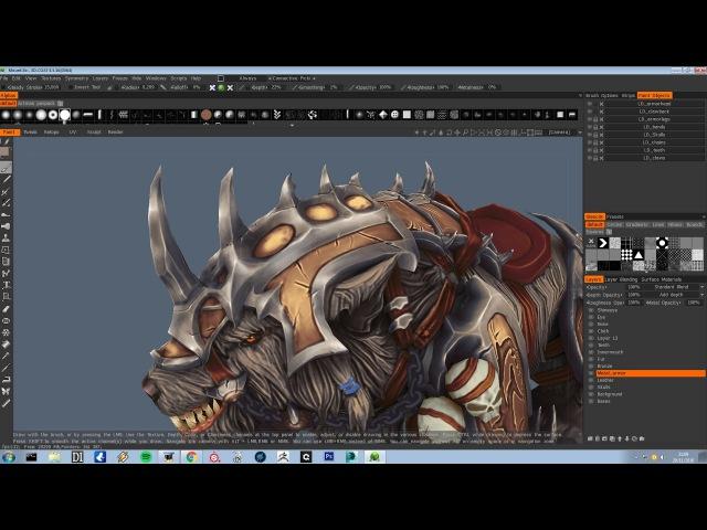 Tutorial Handpainted textures PART 3 3DCoat
