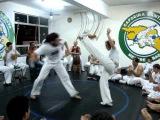 Mestre Nene e Prof. Luana capoeira santista