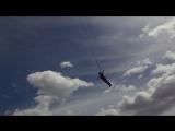 Мой полет))) Чикун Пётр (объект Джессика общая высота 72 м, точка выхода 65 м(~24 этажа), свободное  падение 45+ м)
