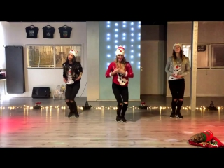 Christmas Dance - Baile de Navidad - Let it Snow - Jessica Simpson - Easy Fitness Zumba 2016